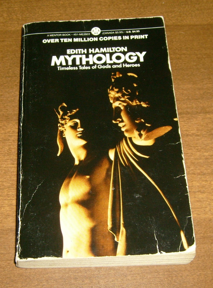 Mythology by Edith Hamilton (1969, Paperback) Greek, Roman and Norse