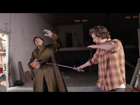 (38) This Jedi Master Created a Real Lightsaber! - YouTube