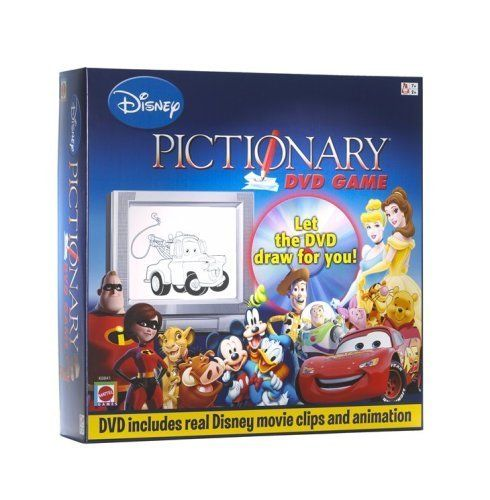 Disney Pictionary DVD Game by Mattel