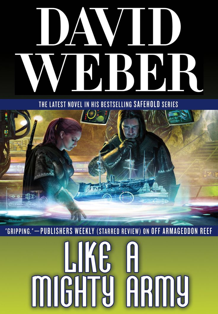 """MySF Short Short Reviews follows the continuing Safehold saga unfolding in """"Like a Mighty Army"""" by David Weber."""