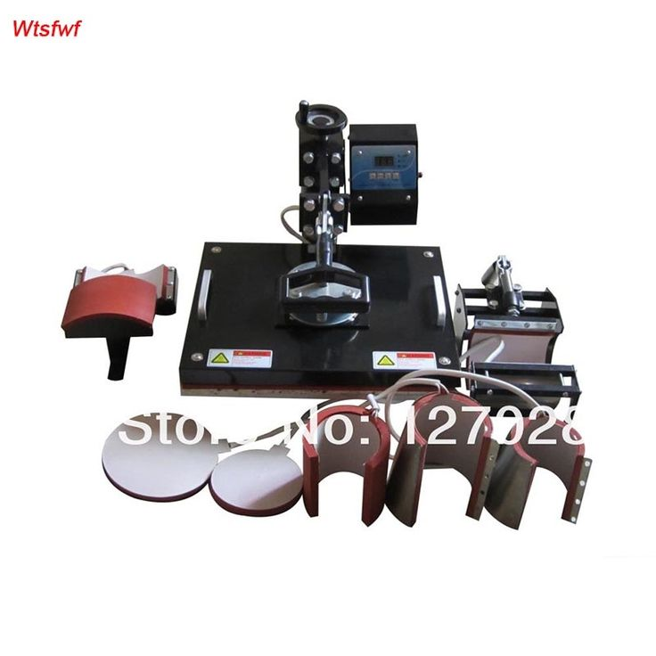 178.50$  Watch here - http://aliis7.shopchina.info/go.php?t=1700781140 - Wtsfwf 30*38CM 8 in 1 Combo Heat Press Printer Machine 2D Thermal Transfer Printer for Cap Mug Plate T-shirts Printing  #buyonlinewebsite