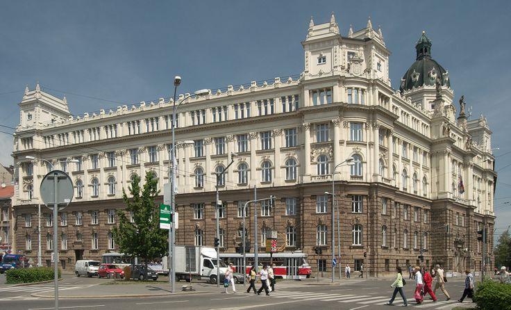 Budova ústavního soudu - Brno