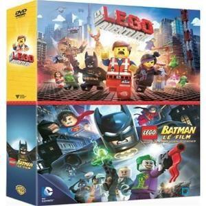 DVD Coffret LEGO (2 DVD La Grande Aventure + BATMAN le film)