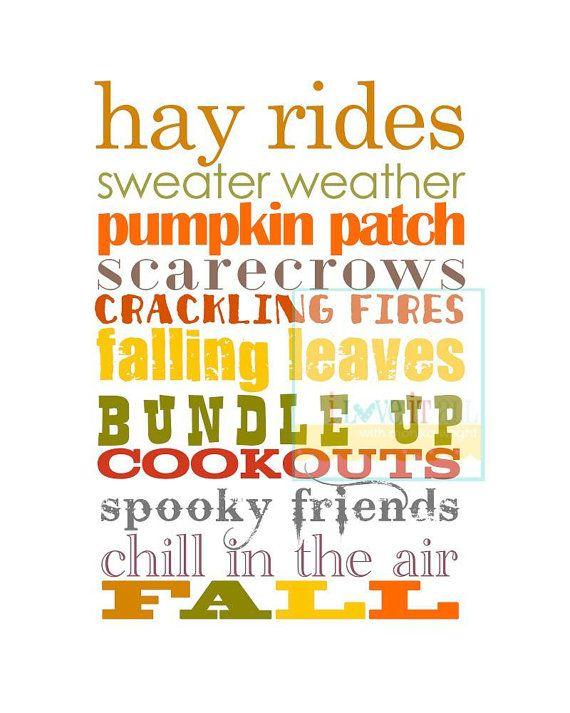 I love fall <3