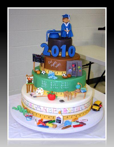 Cours De Cake Design Lille : 10+ images about Teacher Cakes on Pinterest Graduation ...