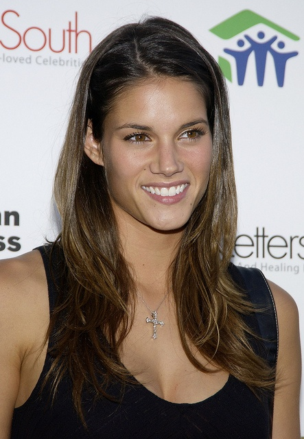 """Missy Peregrym, born 1982 in Montreal, grew up in British Columbia, now lives in Vancouver. A dedicated soccer player; enjoys snowboarding; former model. Has two sisters. Stars in """"Rookie Blue"""" (ABC)."""