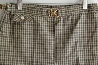 Jantzen Mens Plaid Shorts from the 1950s by NorthCountryClassics, $36.00