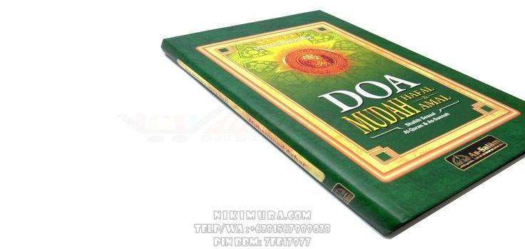 Buku Islam Doa Mudah Hafal dan Amal - Buku yang berisi tentang doa-doa, amalan, dan hafalan shahih ini di ambil berdasarkan Al-Quran dan As-Sunnah. Selengkapnya di buku ini.  Rp. 28.500,-  Hubungi: +6281567989028  Invite: BB: 7D2FB160 email: store@nikimura.com  #bukuislam #tokomuslim #tokobukuislam #readystock #tokobukuonline #bestseller #Yogyakarta #doa