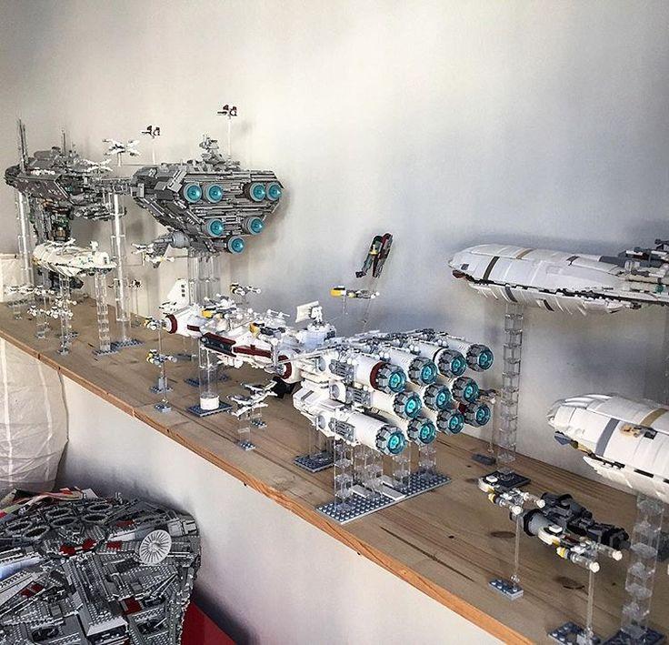 Lego Rebel Fleet