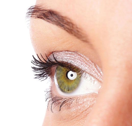 step one Wet and moisten lashes by applying a generous coat of Cherry Blooms Mascara Gel to clean, dry eyelashes. About 15 strokes.