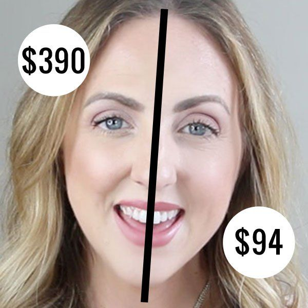 A face full of high-end makeup dupes