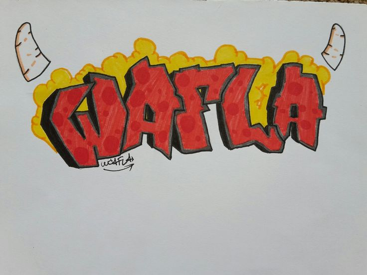 WAFLA Graffiti