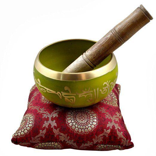 Plesso solare Chakra meditazione Singing Bowl arte buddista grande suono di…
