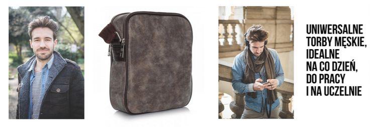 Szukasz stylowej torby dla swojego faceta? Pasuje do pracy, na uczelnię i na inne wyjścia! http://panitorbalska.pl/c/178/torby-meskie.html