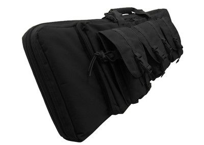 "36"" CONDOR Black MOLLE Tactical OPS .223 Hunting Rifle Gun Mag Carrying Bag Case"