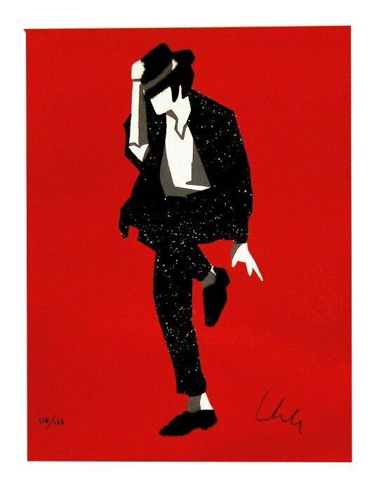 Marco Lodola, The Popstar - Michael Jackson