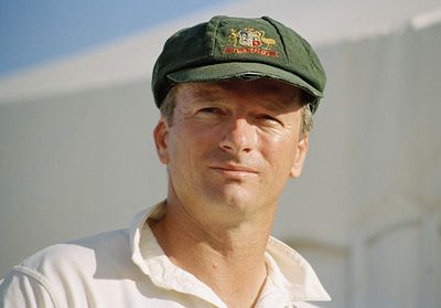 Steve Waugh (1965) is a former Australian cricketer. Captained the Australian Test cricket team.
