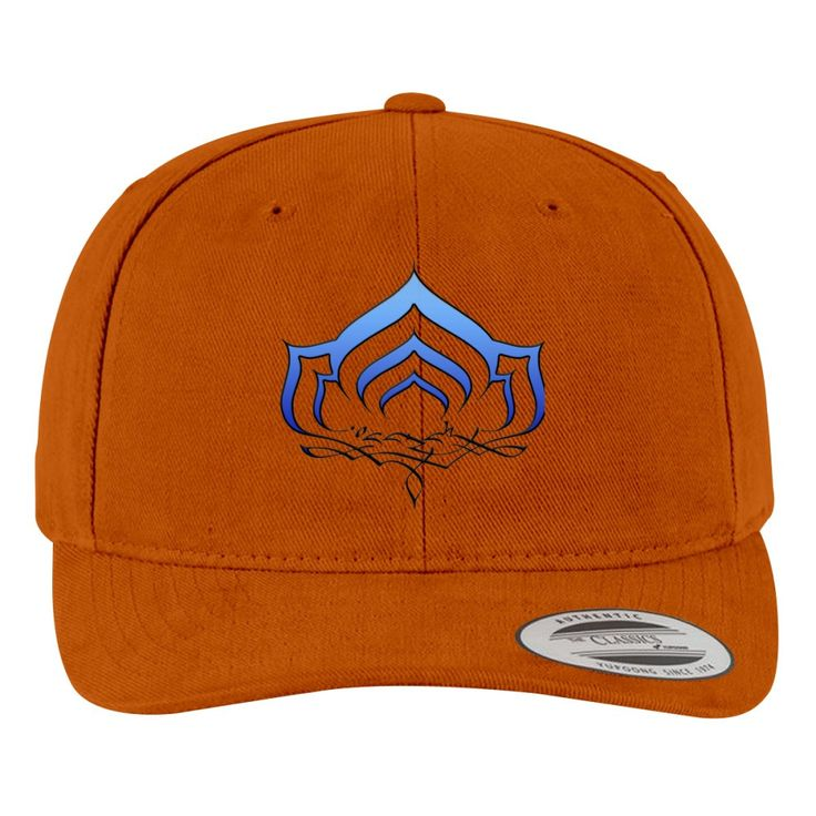 Warframe Lotus Symbol Brushed Embroidered Cotton Twill Hat