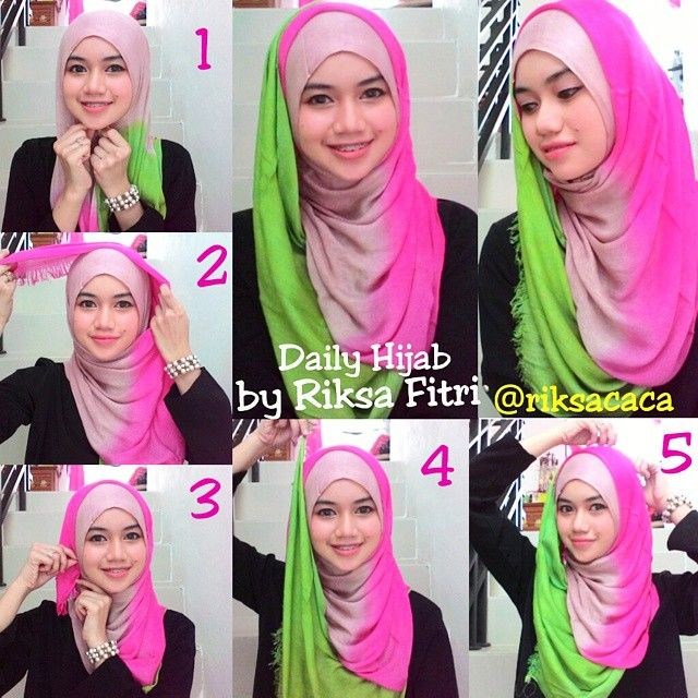What a beautiful hijab for this summer, it's full of life and light colors, it would look great as hijab and as a neck scarf with a full white outfit. Enjoy this hijab tutorial with a full chest coverage and…