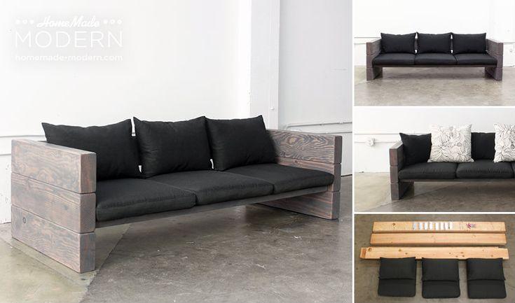 Good ideas for you diy outdoor sofa design for Sofa exterior casero