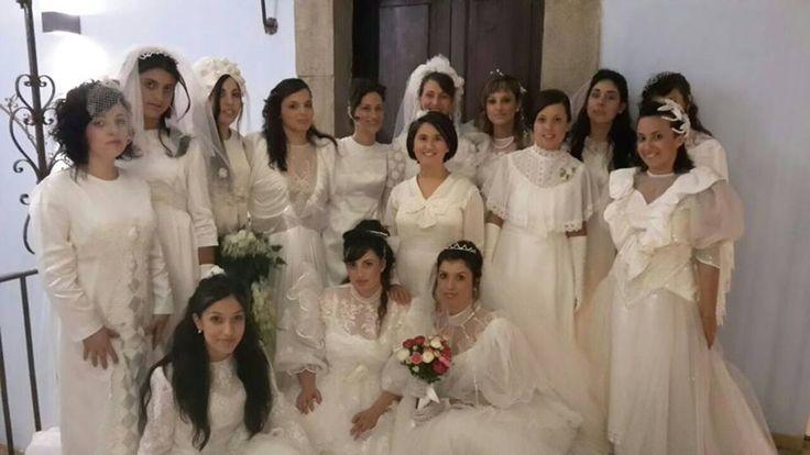Sfilata vecchi abiti da sposa