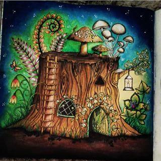 enchanted forest dragon original - photo #14