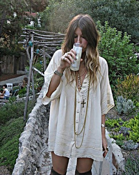 Do love with this dress, so chilled out and hippyish.  Hope it is made in the US... of a cotton fabric please!!!