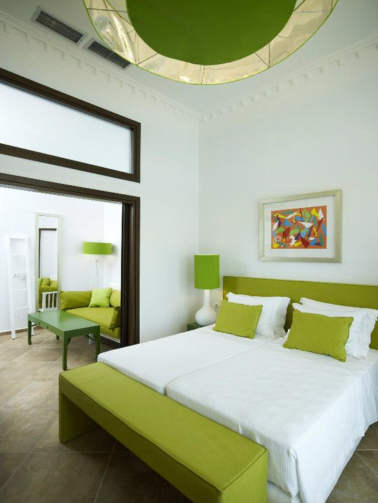Belle Etage Suite at Salvator Villas & Spa Hotel, Parga, Greece www.salvator.gr