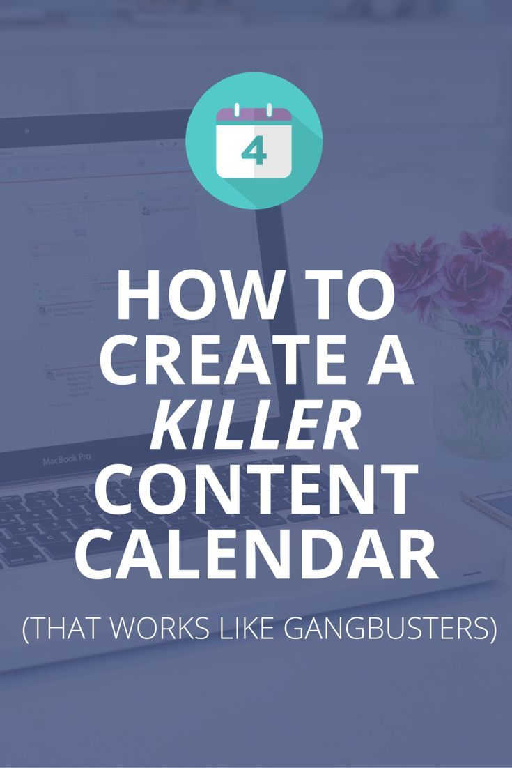 Use this step-by-step guide to create an awesome content calendar. Plus, free template inside. :):
