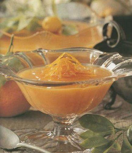 Διάφανη κρέμα πορτοκαλιού
