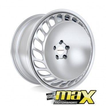 18 Inch Mag Wheel - Messer Turbo Replica Wheel Narrow/wide (5x100 PCD)