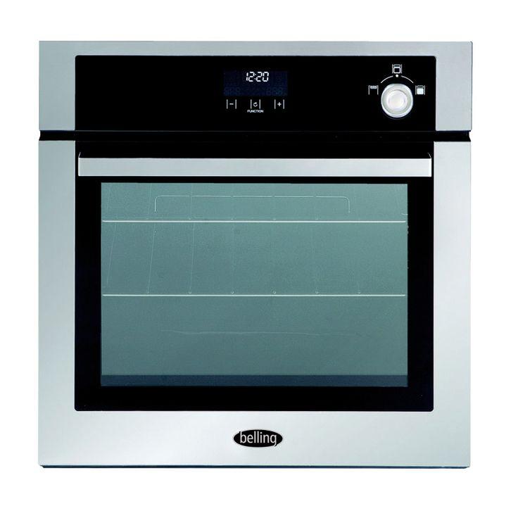 Built-in 60cm dual fuel multi-function oven - LPG #Belling #UKmade #madeinBritian #British #oven