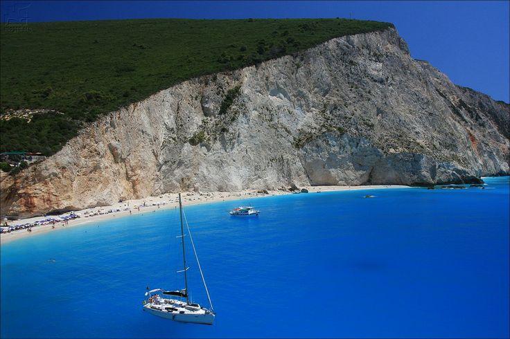 Porto Katsiki - The magic blue of ionian islands sea - Lefkada island - Ionian islands - Greece