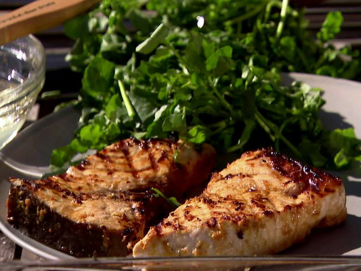 Indonesian Grilled Swordfish from FoodNetwork.com Barefoot Contessa. This marinade can be used on chicken as well. Finally, a marinade without sugar