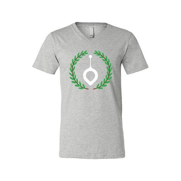 Narcos - Pablo Escobar Leaf - V-Neck Unisex T-shirt