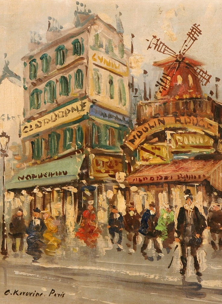 Korovin KA Moulin Rouge
