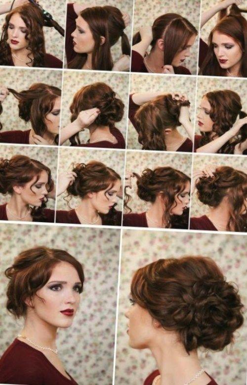 Einfache Frisur Des Neuen Jahres Neueste Frisuren 2019 Pinterest