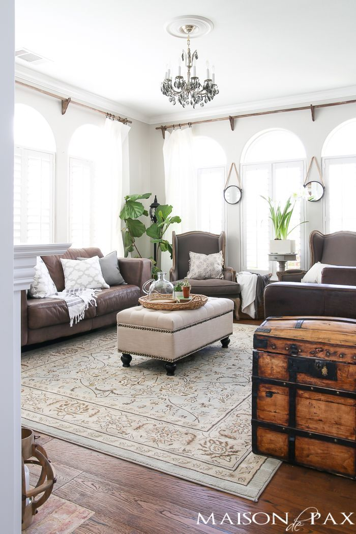 Spring Living Room Decorating Ideas | Elegant living room ...