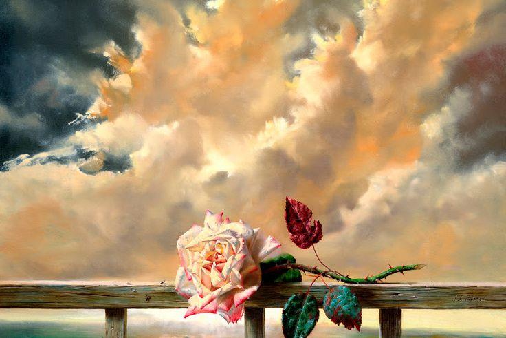 роза небо
