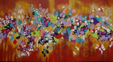 "Saatchi Art Artist Francoise Issaly; Painting, ""The Edge of Perception II"" #art"