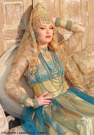 La chedda de Tlemcen d'Anissa Belkebir de A'ina couture