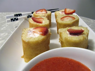 Strawberry Shortcake Sushi Recipe
