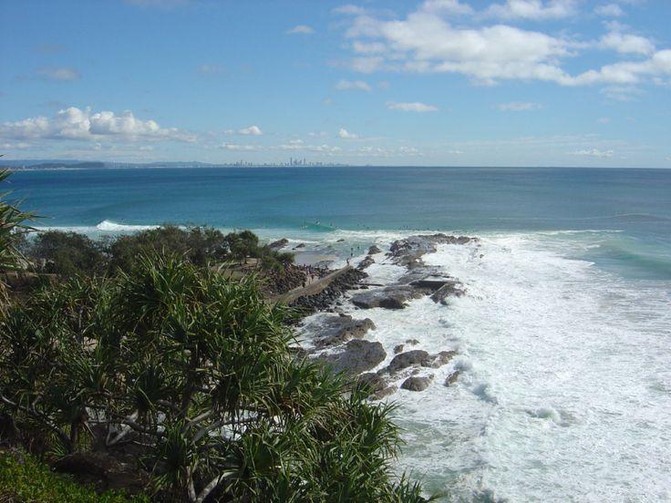 Point Danger, Coolangatta, Gold Coast, Australia