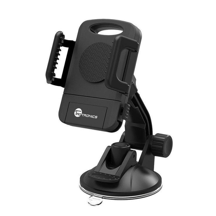 Universal Car Dashboard Suction Mount Holder-360 Rotation Adjustable-Windshield #TaoTronics