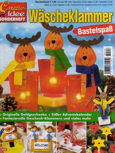 Creativ Idee - Wascheklammer Bastelspass / Csipeszfigurák - Muscaria Amanita - Picasa Webalbumok