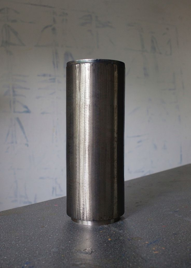 Urn in steel for a couple, designed by Camilla Wedelboe Monsrud 2016  Danish design