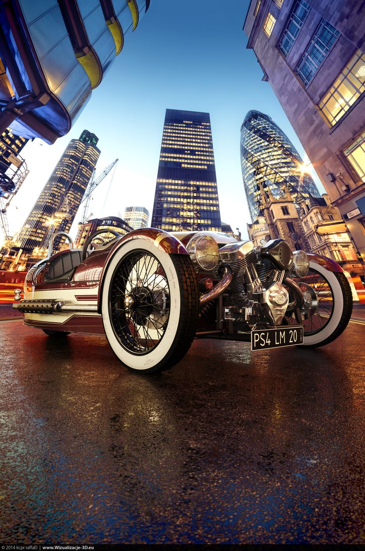 94 best morgan cars images on pinterest morgan cars car and legends morgan 3 wheeler entry for morgan motor company contest by kcpr raffael realistic vanachro Images