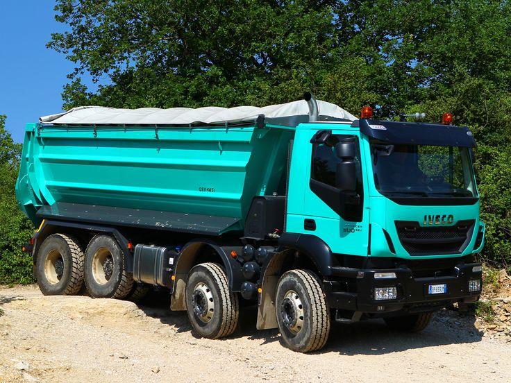 Iveco Trakker Hiland 500_8x4 Trucks Pinterest