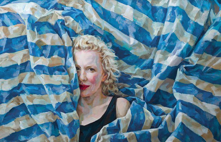 Xenia Hausner | Forum Gallery | Malerei, Acrylmalerei, Bilder