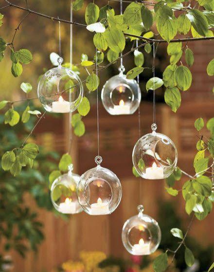 Conjunto de 6 Dia 3.15 velas votivas de vidrio por NewDreamWorld